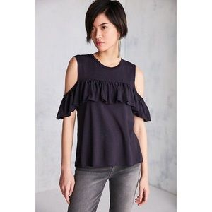Truly Madly Deeply Cold Shoulder T Shirt from UO